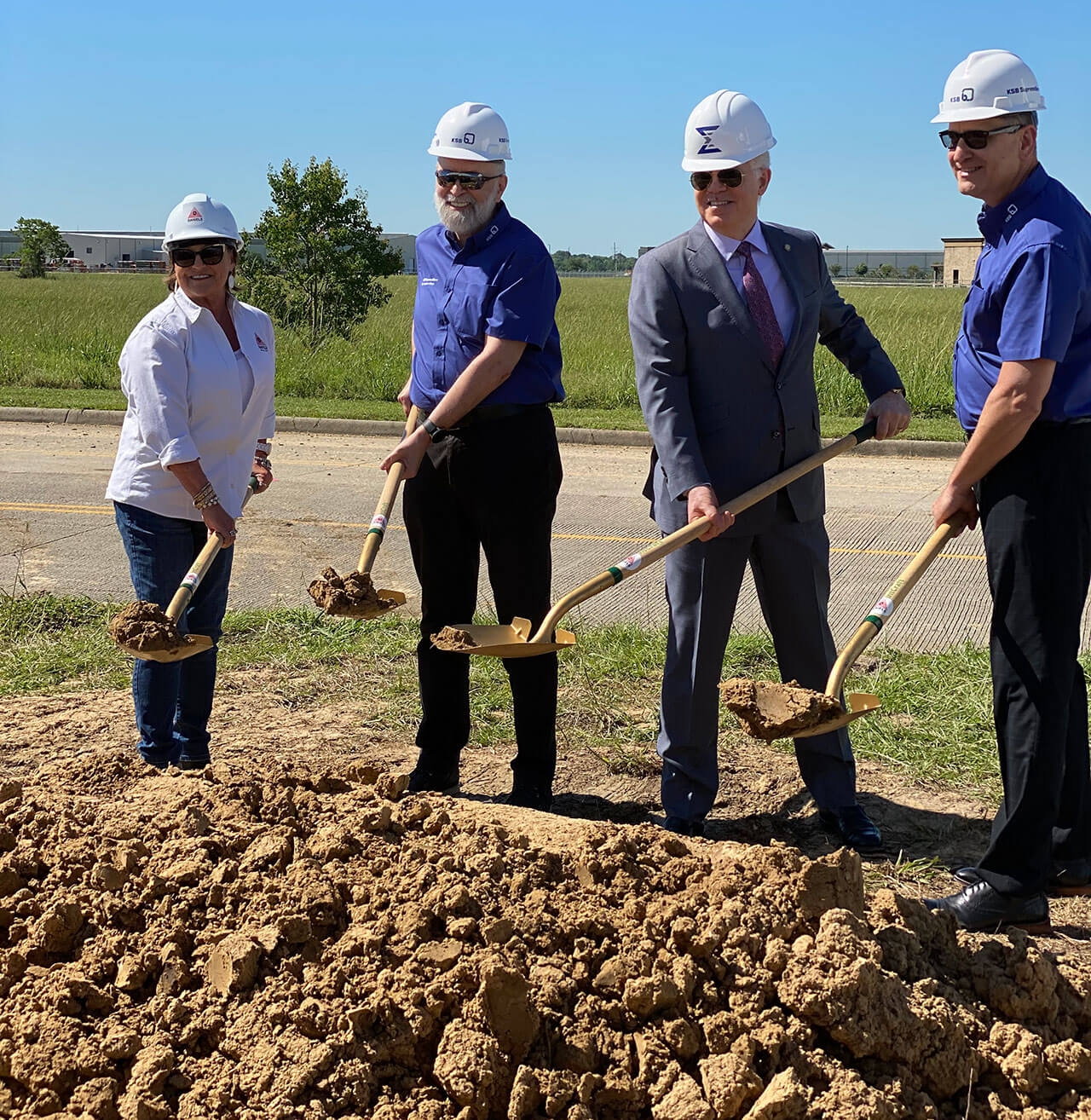 Ground Breaking Port Arthur, Texas, June 11, 2020